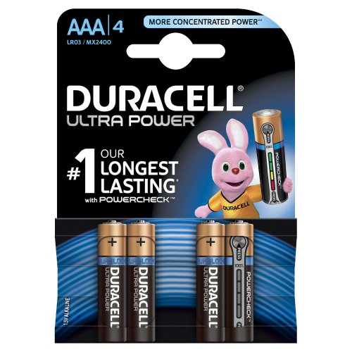 Batterie Alcaline Duracell ULTRA POWER AAA mini Stilo