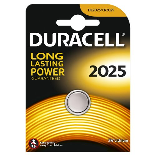 Batteria a BOTTONE Duracell CR2025 litio