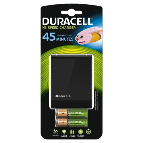 Caricabatterie Duracell HI-Speed Advanced + 4 batterie ricaricabili