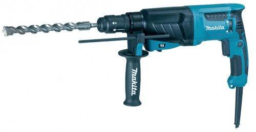 Tassellatore SDS PLUS Makita HR2630TX12 + KIT punte e scalpelli