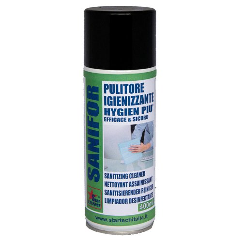 Pulitore igienizzante spray SANIFOR 400ml