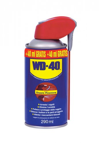 WD40 Lubrificante Spray ml250 + 40ml gratis