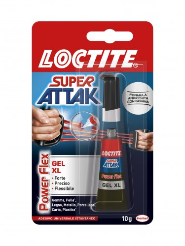 Loctite Super Attak colla Power Flex Gel XL 10gr