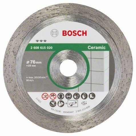 Disco diamantato ø 76 mm Bosch Best Ceramic