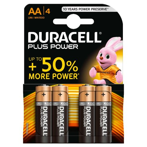 Batterie Alcaline Duracell Plus POWER AA Stilo