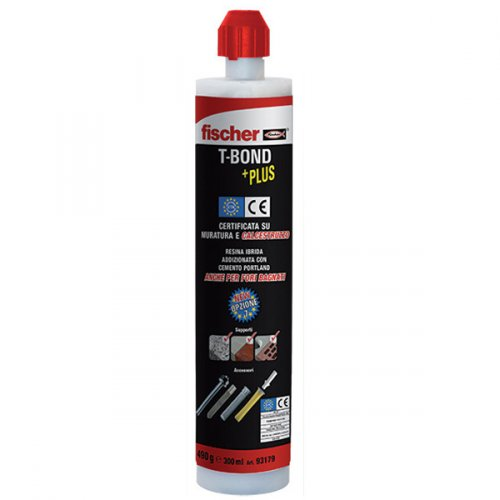 Resina ancorante FISCHER T-BOND PLUS 300ml