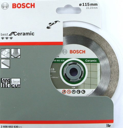 Disco diamantato Bosch ø mm 115 per ceramica