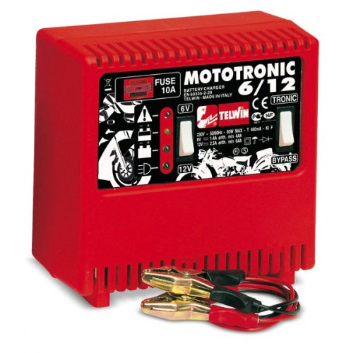 Caricabatterie Telwin Mototronic 6-12 - OUTLET
