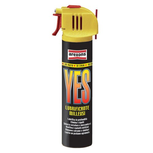 Lubrificante Milleusi spray YES Arexons 75ml