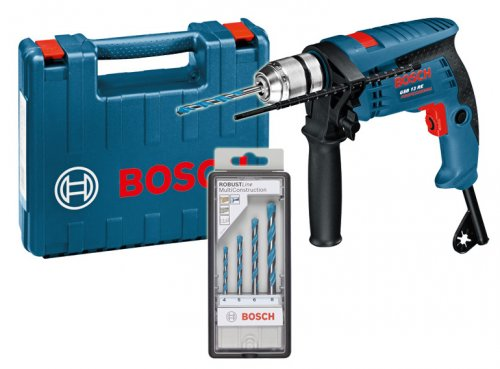 Trapano Bosch Professional GSB 13 RE + Punte