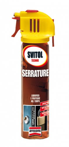 Svitol Serrature lubrificante spray ml 75