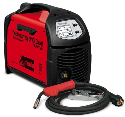 Saldatrice inverter Telwin Technomig 210 Dual Synergic