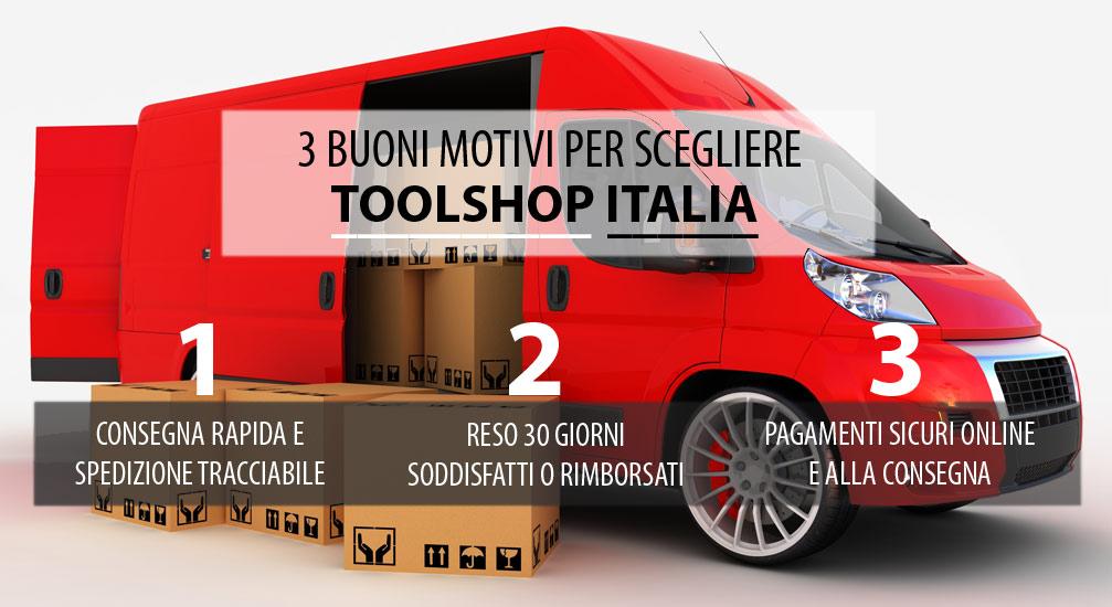 7d3c26a22f Spedizioni - ToolShop Italia