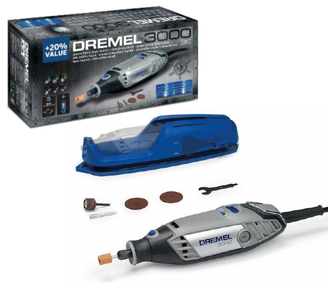 Dremel 3000 utensile multifunzione 5 accessori toolshop italia - Taglio piastrelle dremel ...