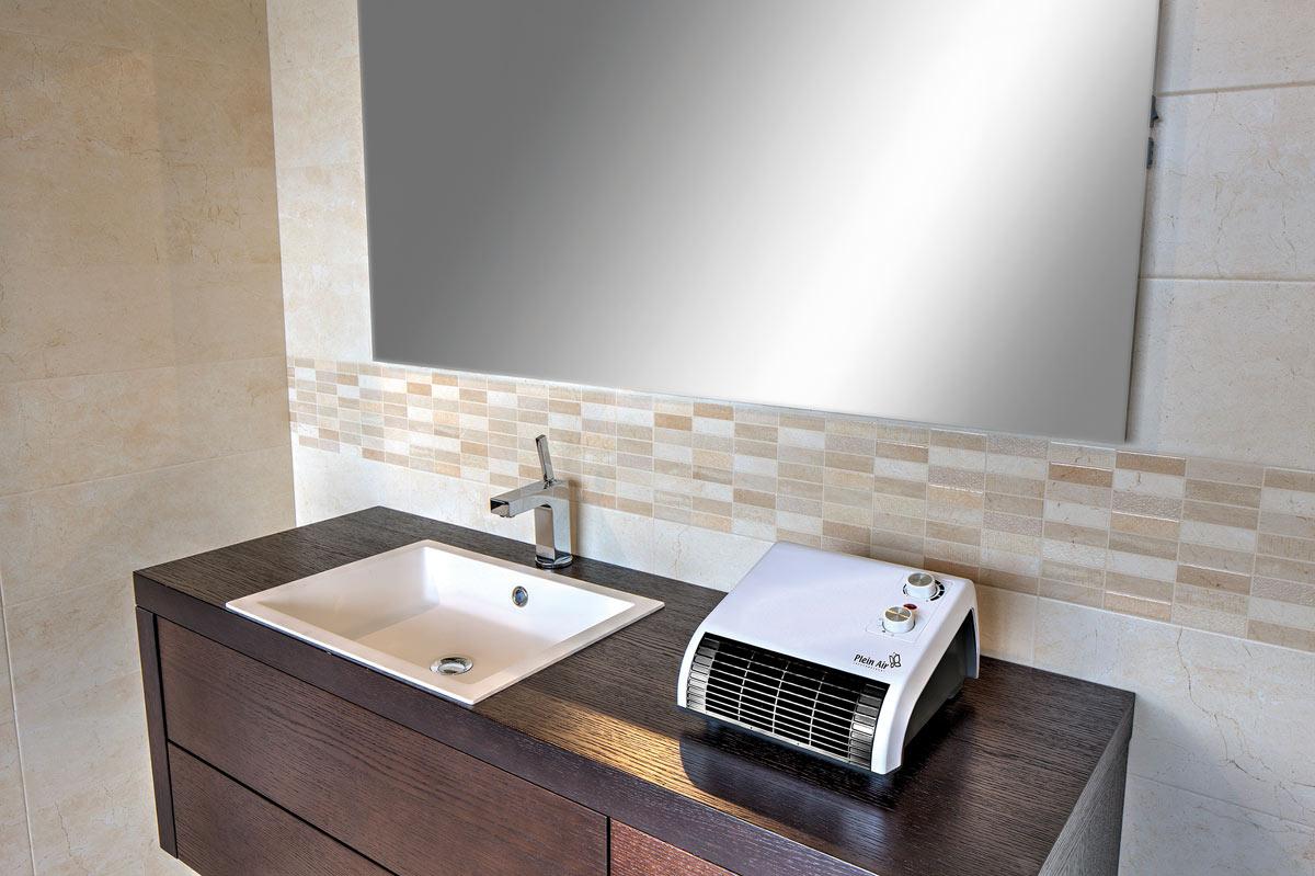 Termoventilatore elettrico per bagno: stufetta elettrica per bagno