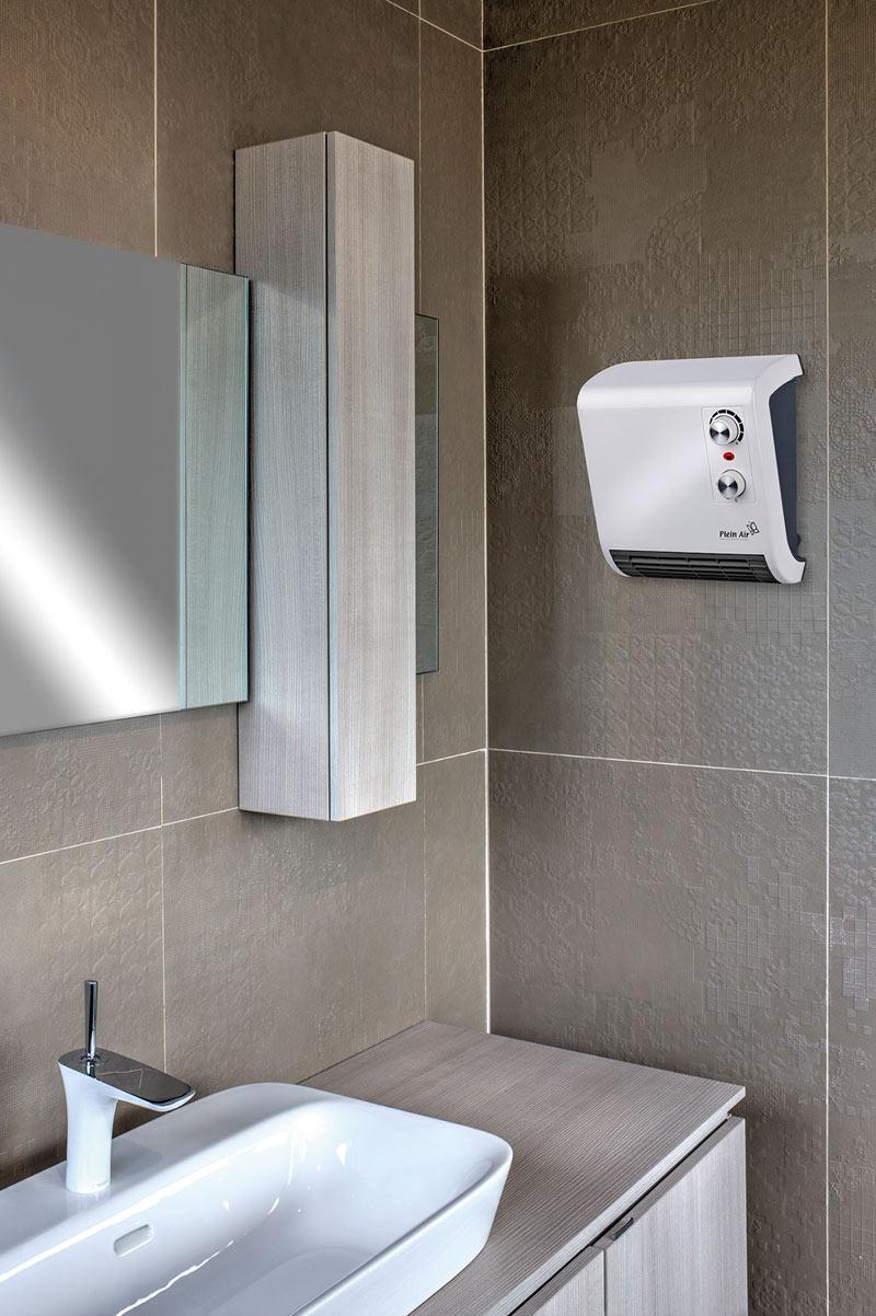 Stufa elettrica bagno Wally Plein Air TVSP-2000 - ToolShop Italia
