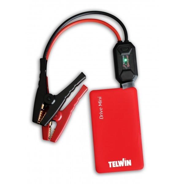 Avviatore Emergenza Portatile.Avviatore Emergenza Auto Moto Portatile Telwin Drive Mini 12v