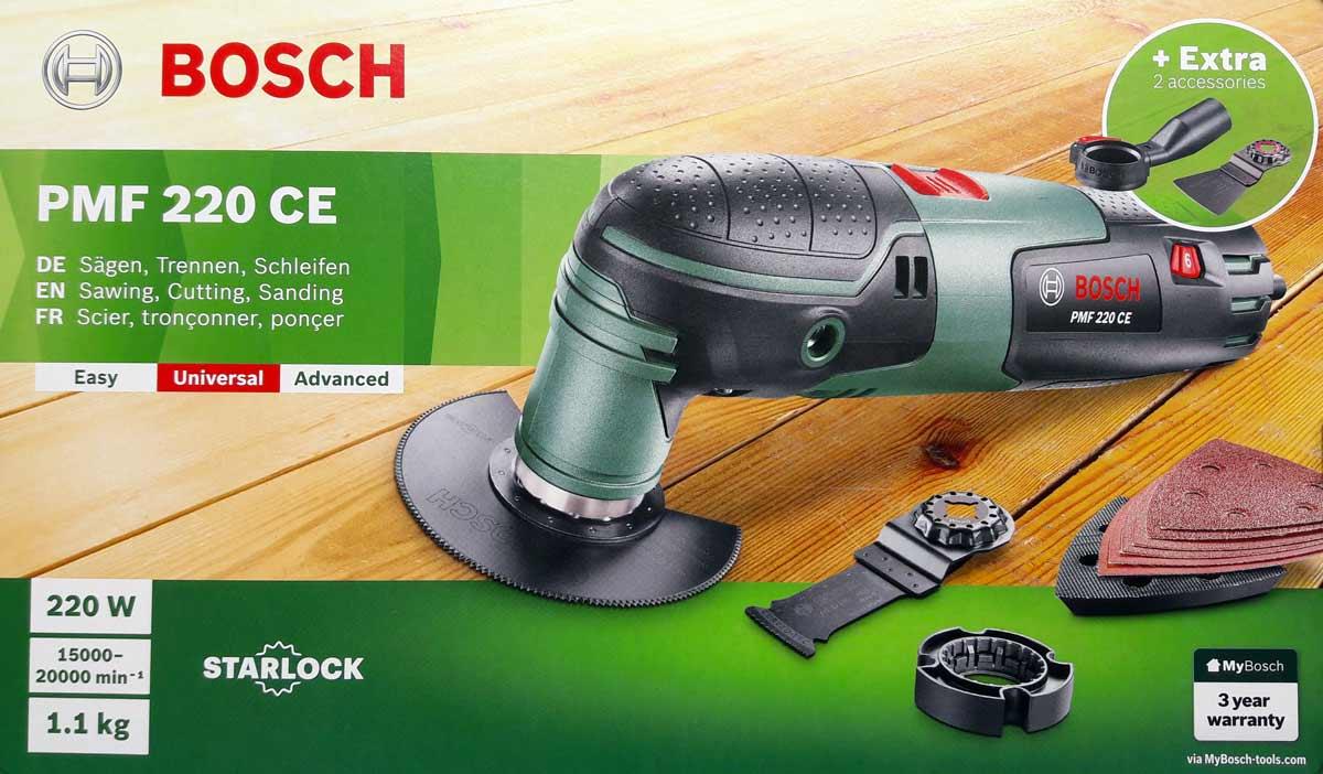 Multiutensile bosch pmf ce toolshop italia