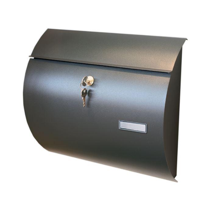 Cassetta postale alubox saturno colore ghisa toolshop italia - Cassetta postale design ...