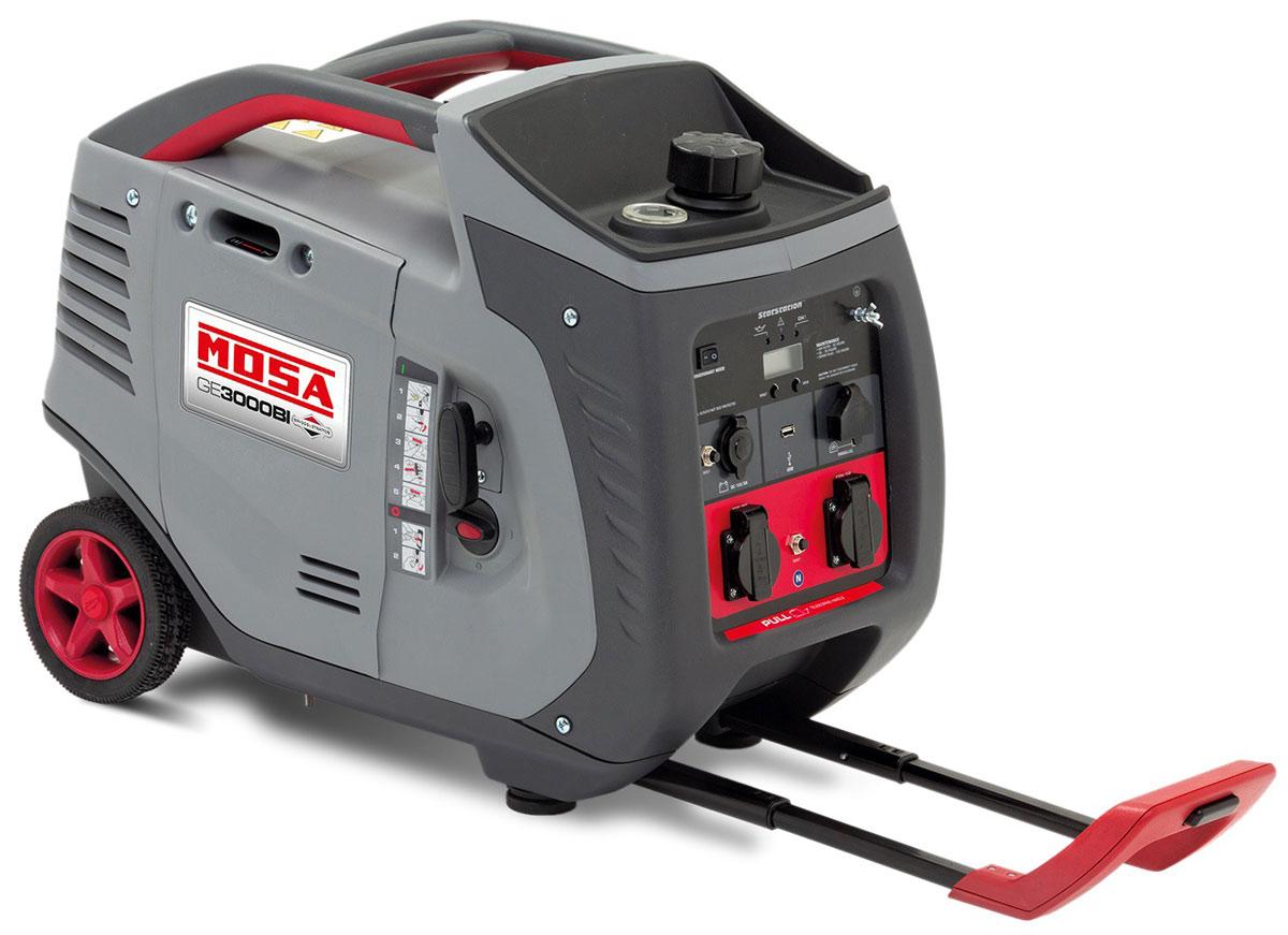 Generatore di corrente portatile 3 kw benzina mosa ge 3000 for Generatore di corrente hyundai hy 3000 3 kw