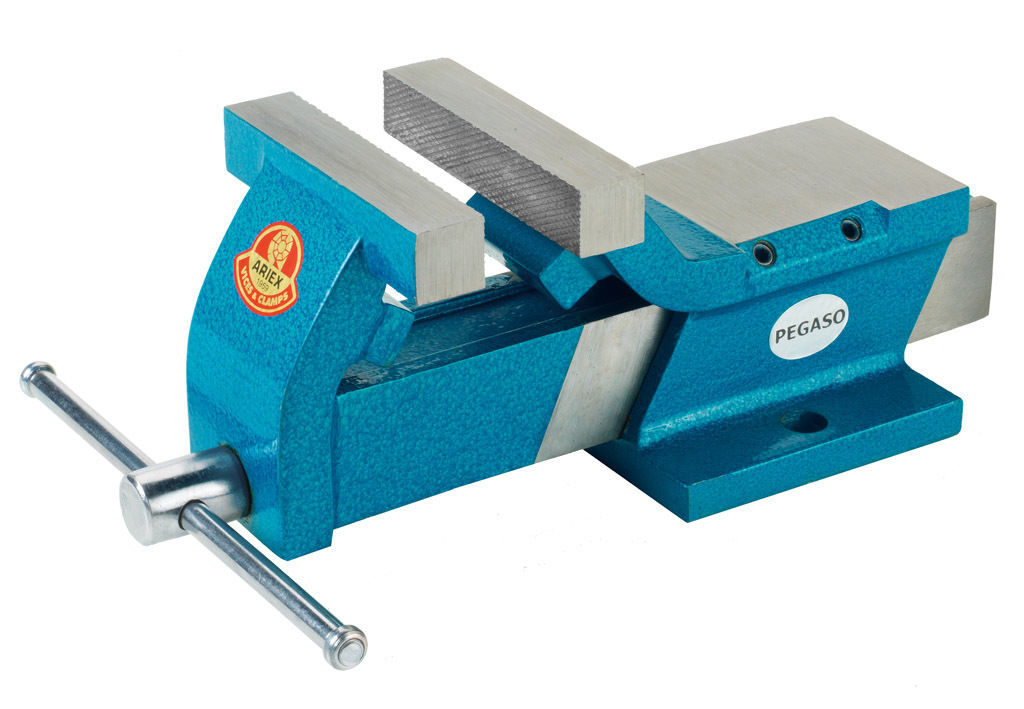 Morsa in acciaio parallela ariex pegaso 110 misura for Trapano bricoman