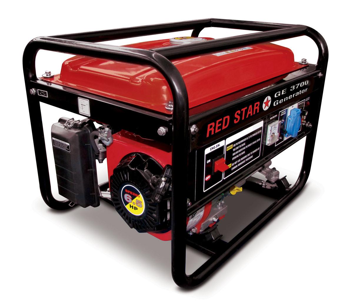 Generatore di corrente mosa ge 3700 red star 2 8kw for Generatore di corrente lidl